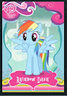 My Little Pony Rainbow Dash Series 1 Trading Card