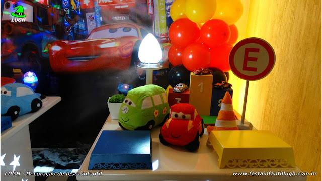 Decoração mesa infantil Carros (Disney) - Provençal