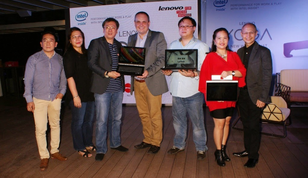 Lenovo Yoga line-up and new Lenovo Y50 launch
