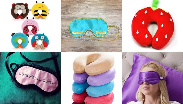 Что подарить путешественнику? идеи подарков для любителя путешествий подушка и маска для сна в самолете