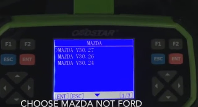Choose Mazda not Ford