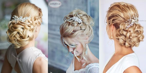 Chic And Elegant Wedding Hairstyles
