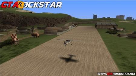 Green Desert Mod (Novo Deserto Realista) para GTA San Andreas