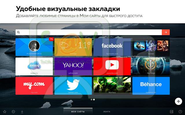Визуальные Закладки Mail.Ru (Extensión)