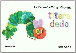 La Pequena Oruga Glotona Títere Dedo (Cuentos Infantiles Tridim.) P[DF