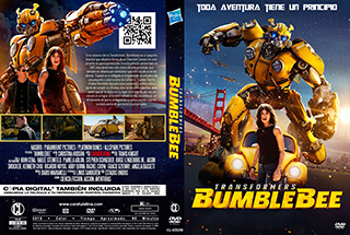 Bumblebee - Cover DVD - by Caratulatina