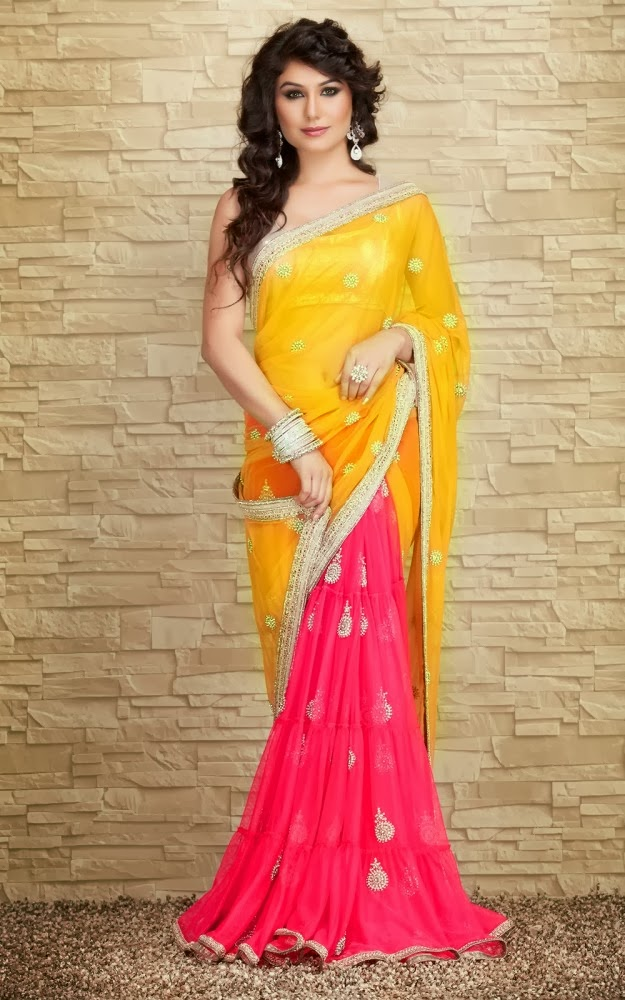 Indian Designers Beautiful Bridal Wedding Saree Dress