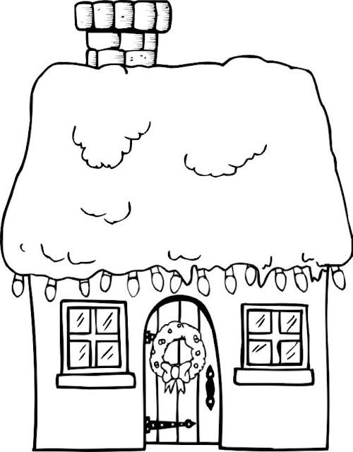 coloriage hiver à imprimer