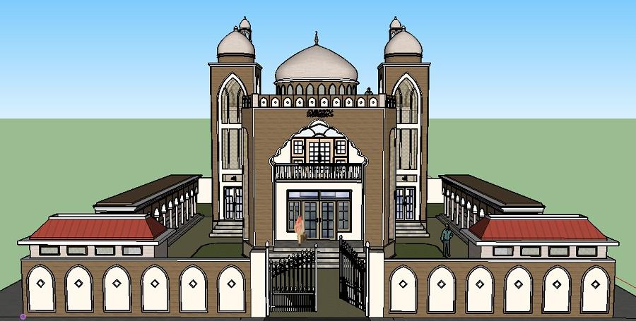 Gambar Desain Masjid Agung