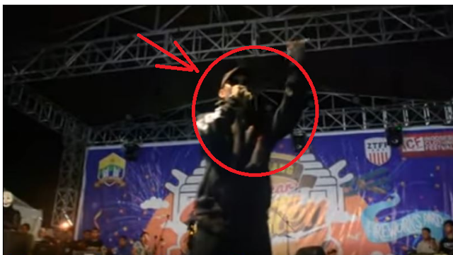 Young Lex Nantangin Ribut ke Penonton di daerah Serang Banten kemaren 3 January 2017
