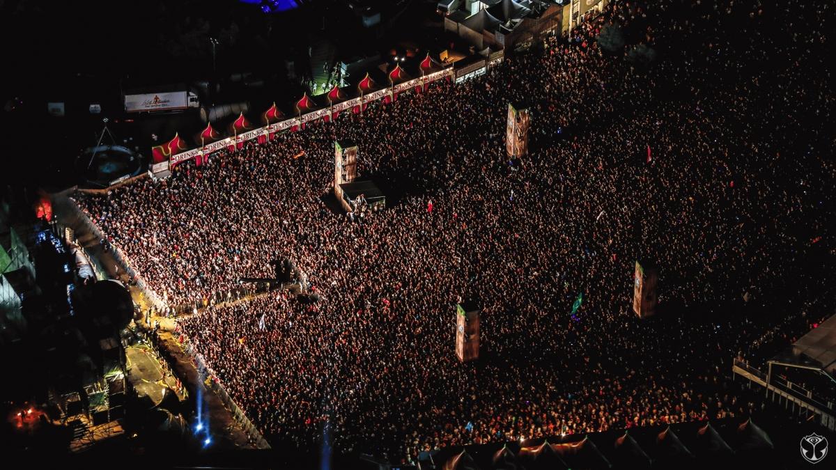 Tomorrowland Live stream on TV