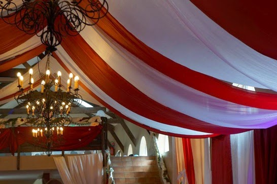 deco plafond pour salle de mariage. Black Bedroom Furniture Sets. Home Design Ideas