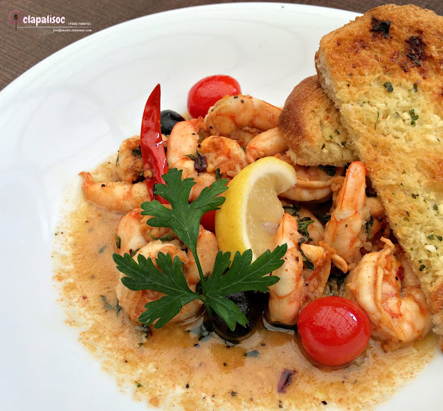 Shrimps Aglio from Italianni's PH