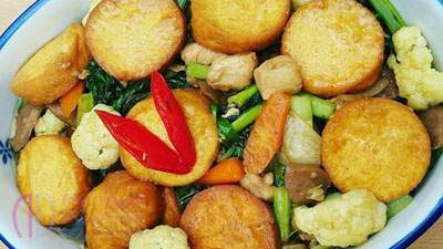 Resep Masakan: Tumis Brokoli Saus Telur Asin