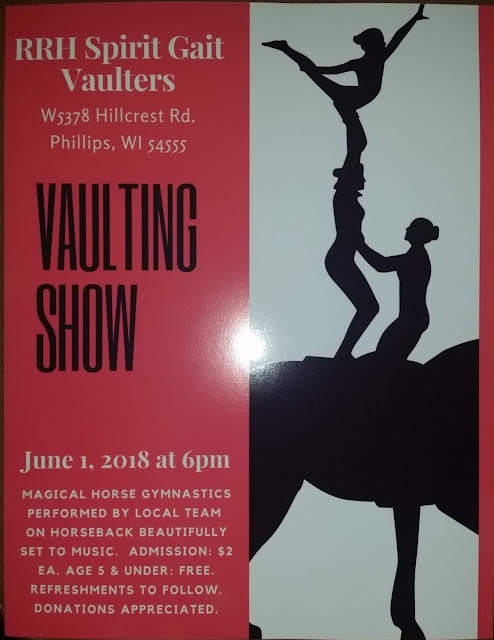 SPRING VAULTING SHOW this FRIDAY