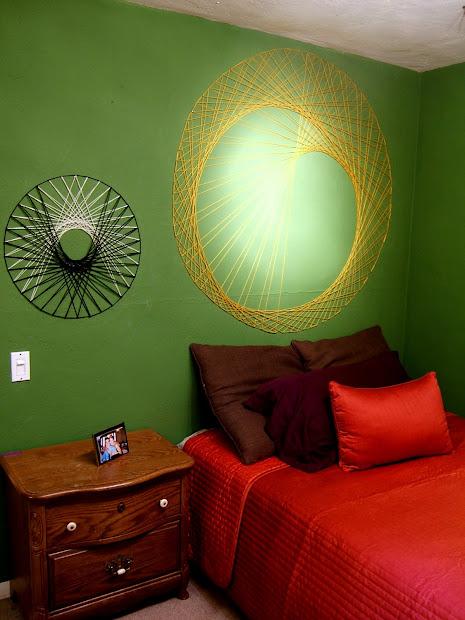 DIY String Art On the Wall