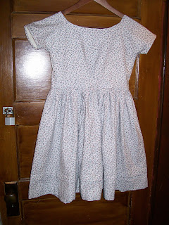 Infant bodice dress with smooth sleeves, Sewing Academy 250.