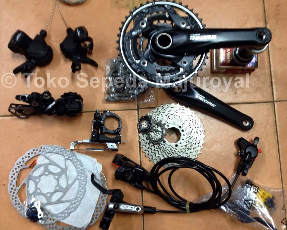 Groupset Deore 10-speed
