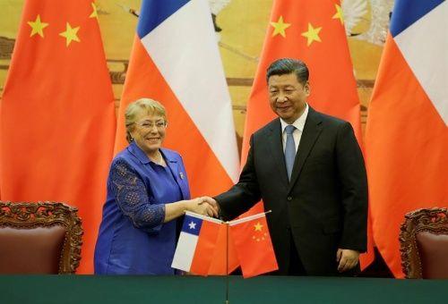 China y Chile sellan diez acuerdos de cooperación