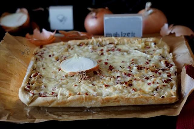 Zwiebelkuchen nach rheinischer Art