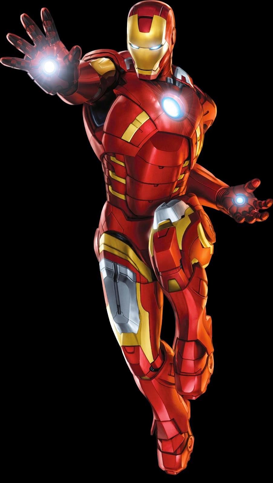 Imagenes para imprimir gratis de Iron Man.