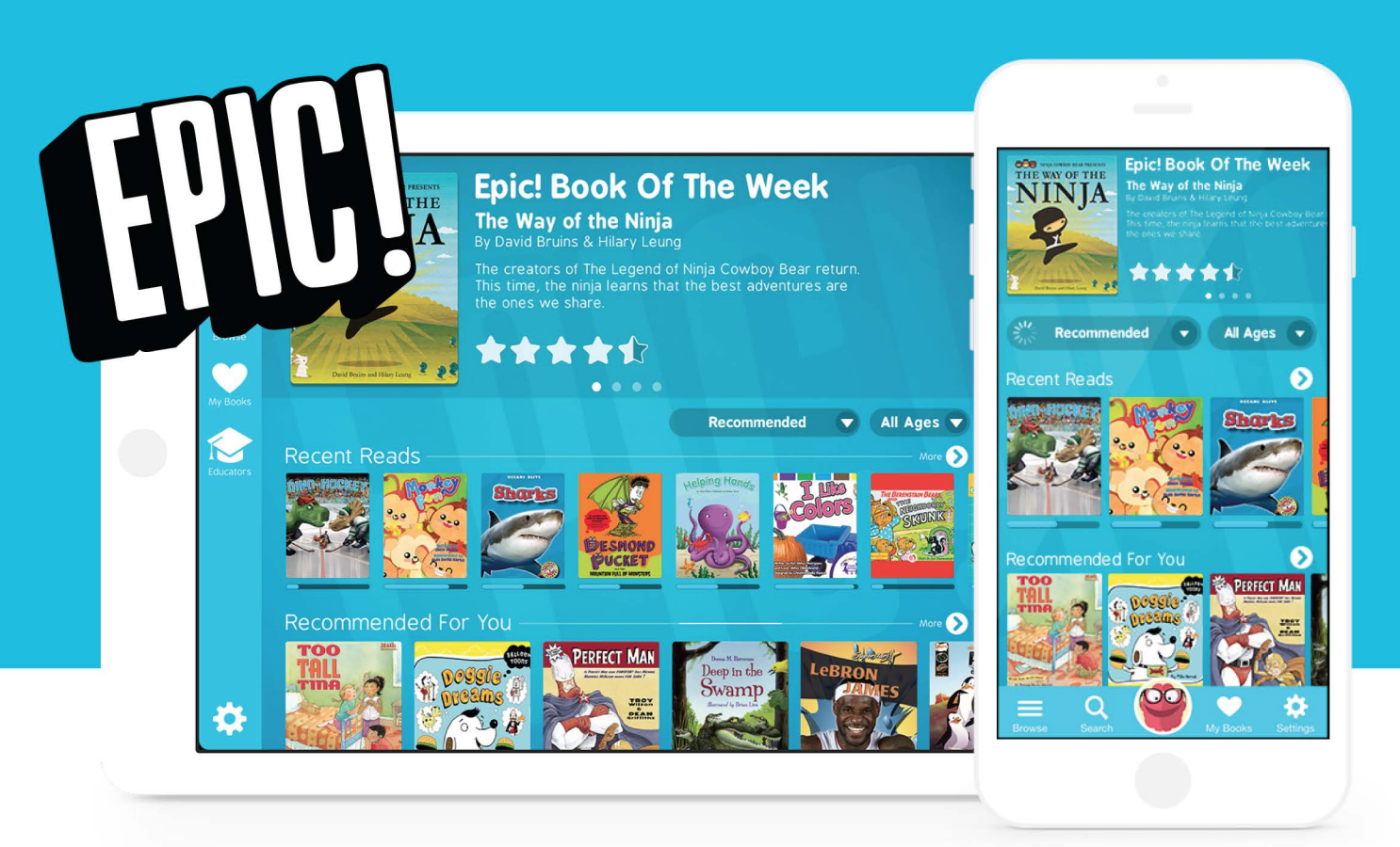 what s happening at the bss library epic online books for children