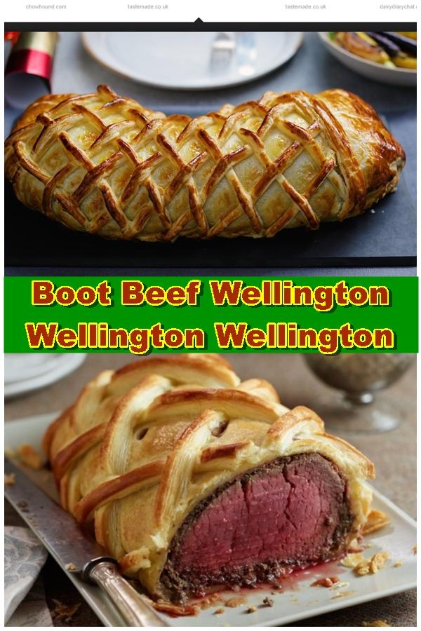 Boot Beef Wellington | Wellington Wellington