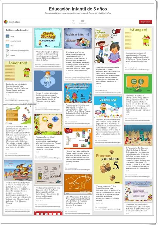 """""""Conjunto de juegos y actividades de Educación Infantil de 5 años"""""""