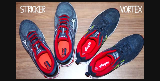 Sepatu Lari dari Eagle: Striker vs Vortex