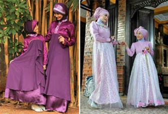 Model Baju Kebaya Muslim Ibu Dan Anak