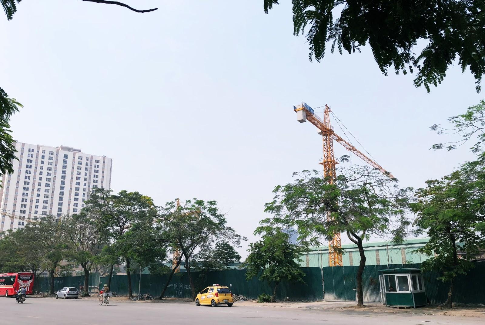 Tiến độ xây dựng của dự án Phương Đông Green Park