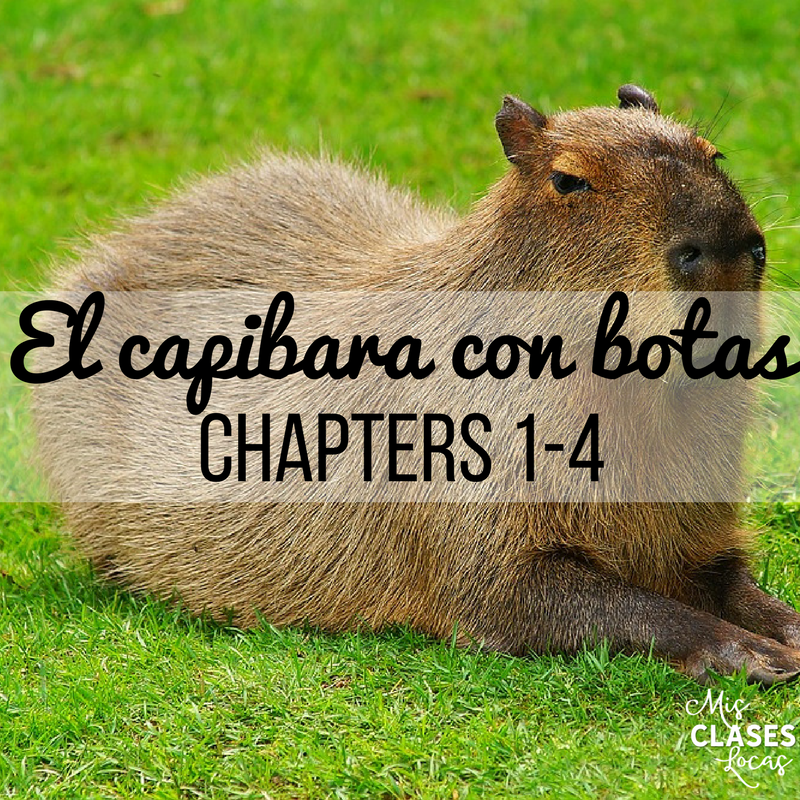 Teaching El capibara con botas - Chapters 1-4