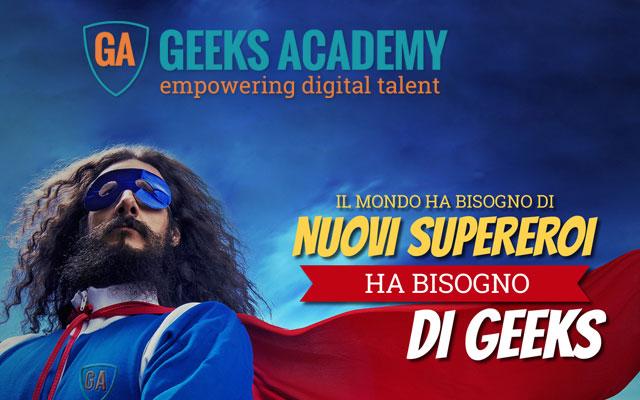 Geeks Academy, formazione digitale nei settori Cybersecurity, Big Data, Coding e Gaming