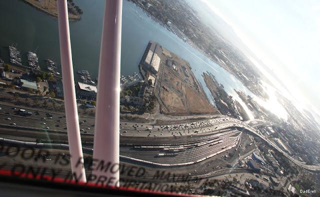 Oakland voies ferrées et autoroutes près du port
