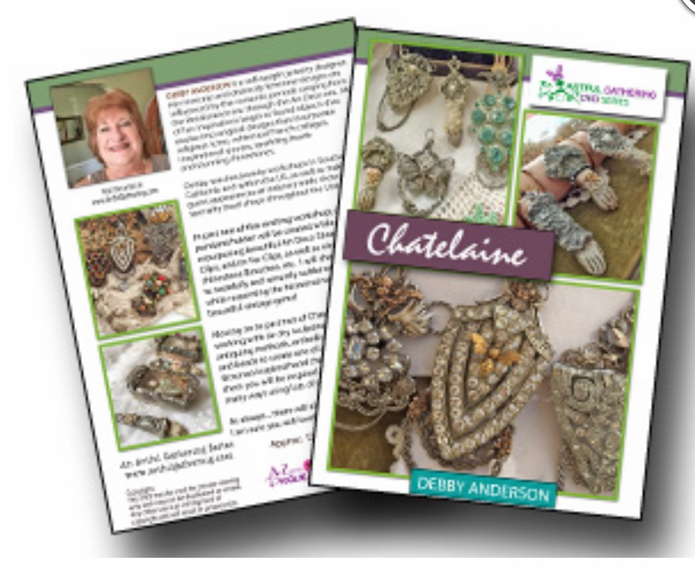 """CHATELAINE"" by Debby Anderson"