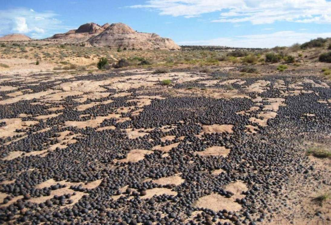 How Utah S Mysterious Moqui Marbles Formed