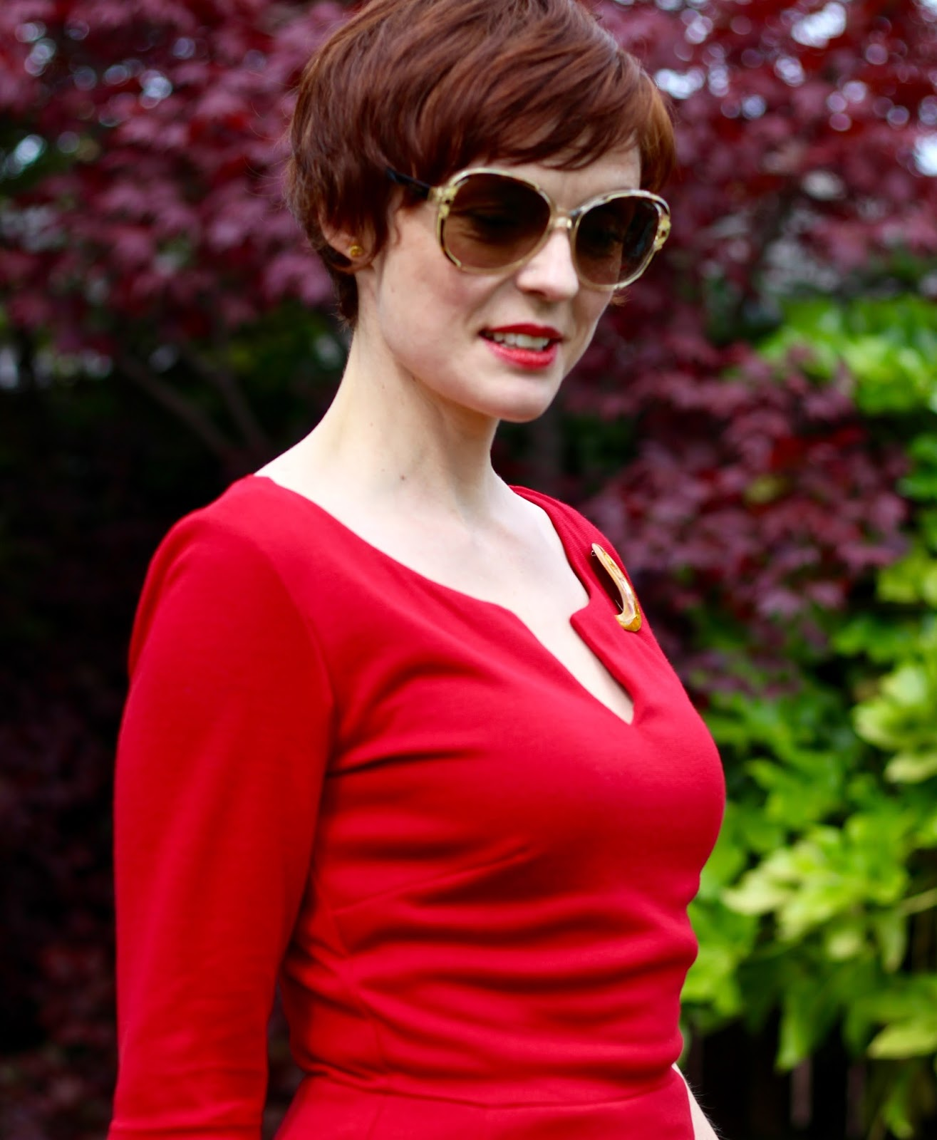Red Alie Street Morgan Dress | 3 ways to add Individuality to a Formal Look.