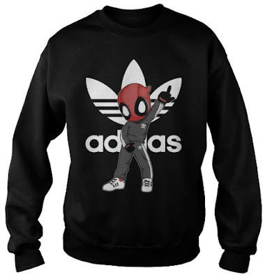 deadpool adidas hoodie, deadpool adidas jumper