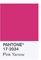 Source: Pantone. Pink yarrow.