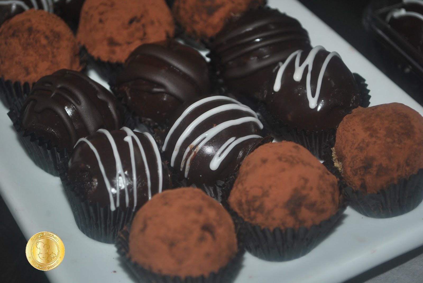 PATYSKITCHEN: CHOCOLATE TRUFFLES