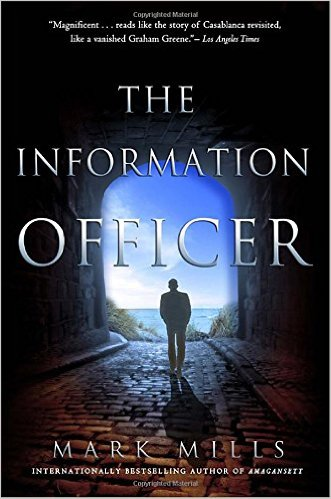Book cover for The Information Officer in Didsbury book group