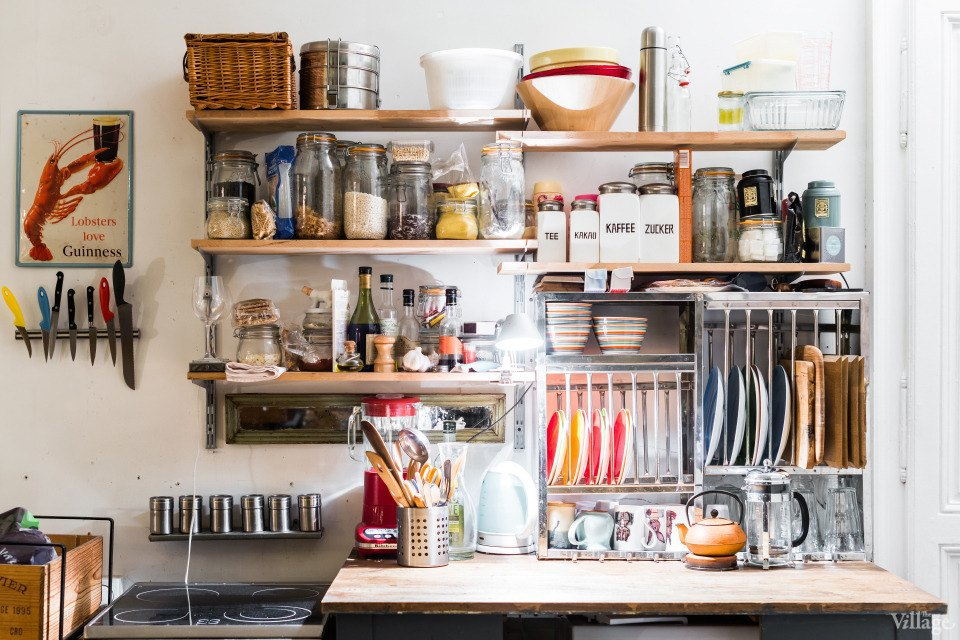 Muebles Reciclados Para Cocina Muebles Muebles De Cocina En Madera - Muebles-de-cocina-reciclados