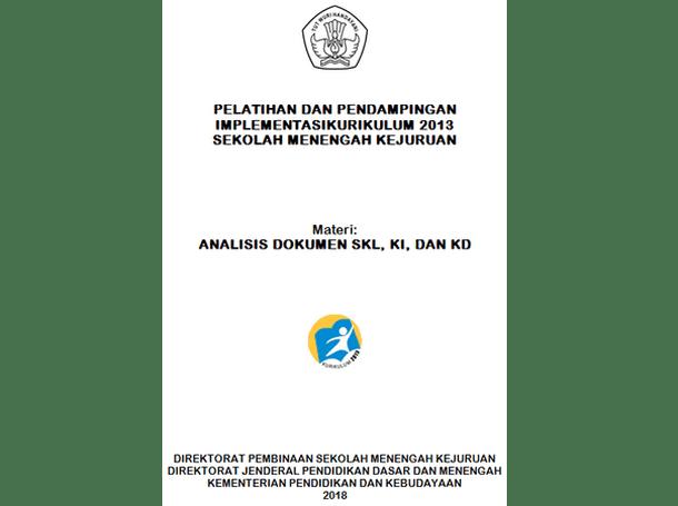 Analisis Dokumen SKL, KI dan KD SMK Kurikulum 2013
