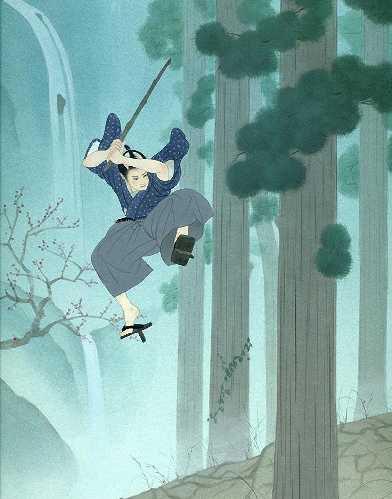 c2680fa004f9c Samurai  Illustrations by Ryouhei Murata