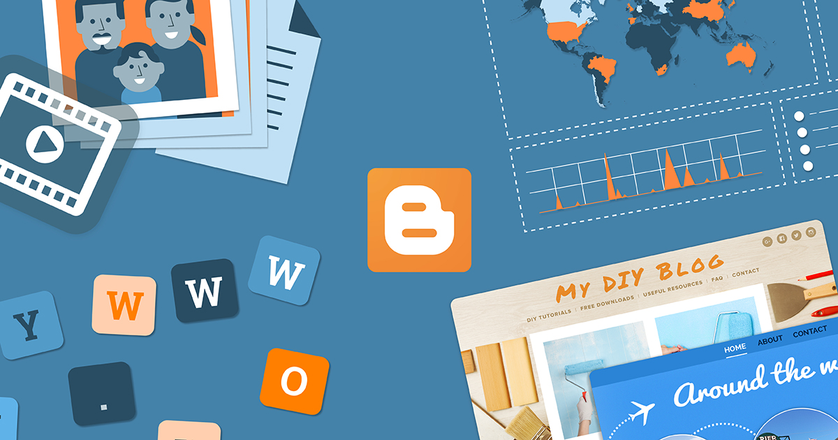 blogger platform blogging activity
