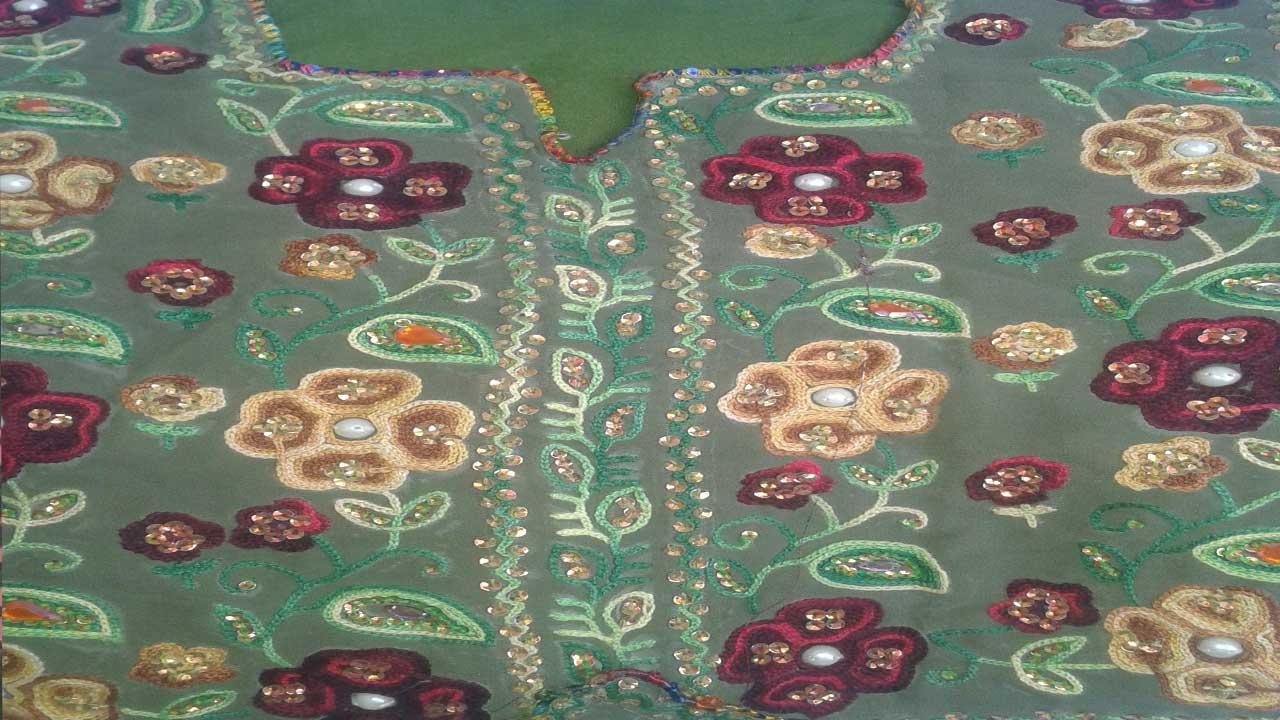 balochi dress photo -9