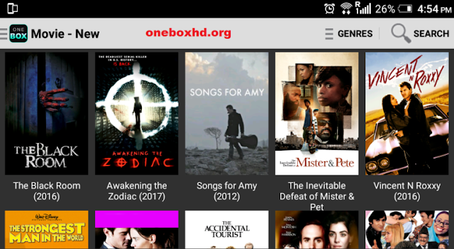 Onebox HD Screenshot