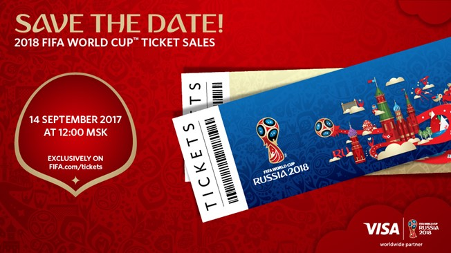 2018 FIFA World Cup Ticket sales