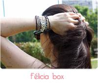 bracelet Felicia box
