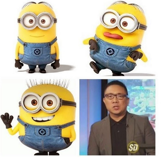 Minion #MakeUpTransformation